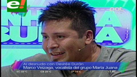 Marco Veizaga al desnudo