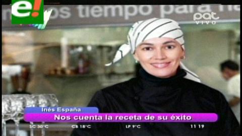 Inés España al desnudo