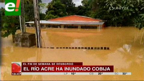 Cobija: Afectados por la inundación superan los 4000