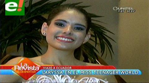 Laryssa Burgos rumbo al Miss Teenager World 2015
