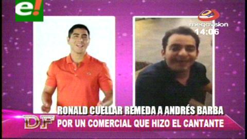 Andrés Barba aclara sobre el polémico video que realizó Ronico Cuéllar