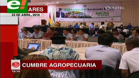 Titulares de TV: Concluye la Cumbre Agropecuaria, el balance de los productores es positivo