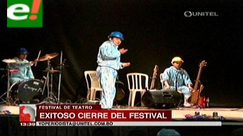 El Festival Internacional del Teatro se despidió hasta el 2016
