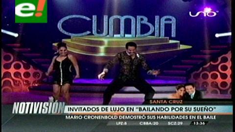 """Mario Cronembold bailó y se emocionó en """"Bailando por un sueño"""""""