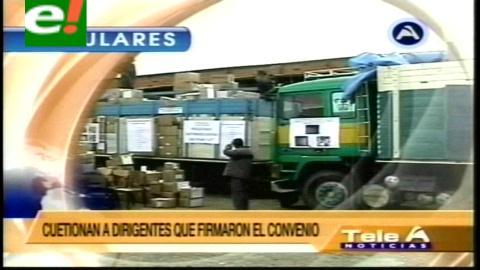 Titulares de TV: Aduana Nacional anunció la incorporación del ejército en la lucha contra el contrabando