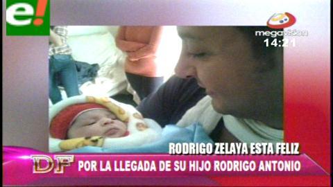 Rodrigo Zelaya y su faceta más tierna