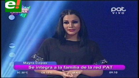 Mayra Copas debuta en la pantalla chica