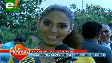 Miss Santa Cruz 2015: Sharon Valverde se lleva el primer título previo del certamen