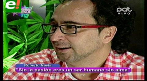 Roberto Navia al desnudo