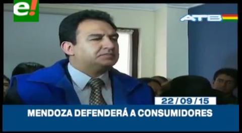 Titulares de TV: Guillermo Mendoza posesionado como Viceministro de Defensa del Consumidor
