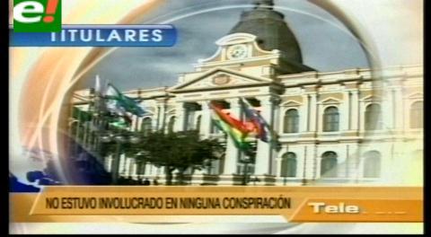 Titulares de TV: EEUU rechazó acusaciones del Gobierno que calificó de falsas y absurdas