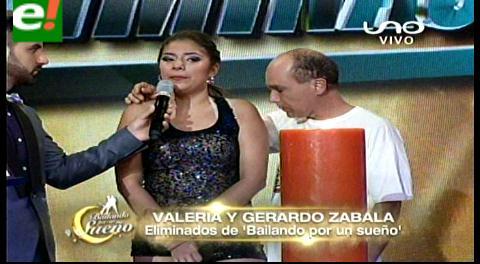 """""""Ra propia""""  y Valeria son eliminados de Bailando por un sueño"""