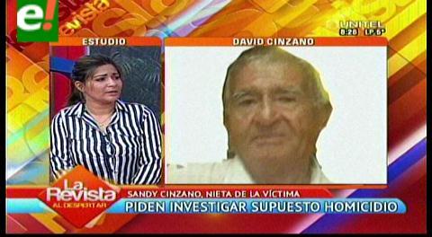 Santa Cruz. Familiares de anciano fallecido tras ser golpeado con martillo, exigen investigación