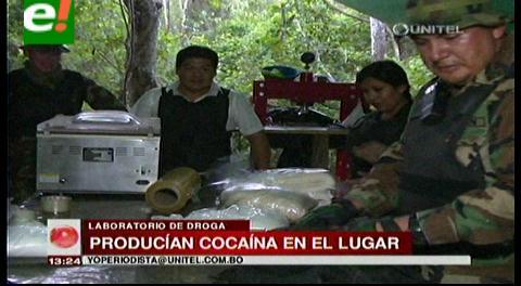 Hallan laboratorio de droga en el municipio de Cabezas