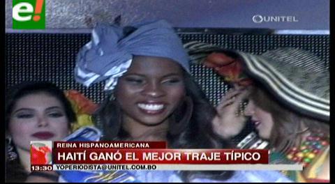 Reina Hispanoamericana 2015: Haití el mejor traje típico y va por más