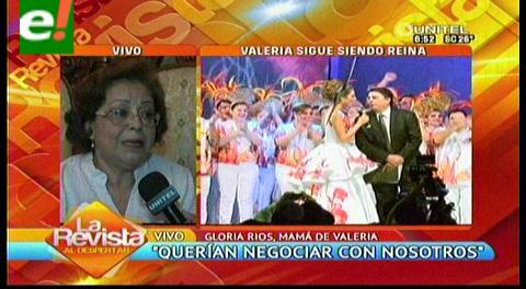 """Madre de Valeria Saucedo y el pago del vestido: """"Eso era como comprar la corona de mi hija"""""""