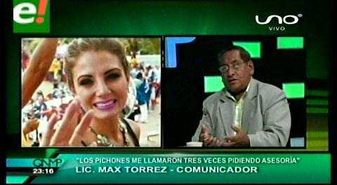 """Max Torres: """"Una reina necesita el contacto con todos los sectores sociales"""""""
