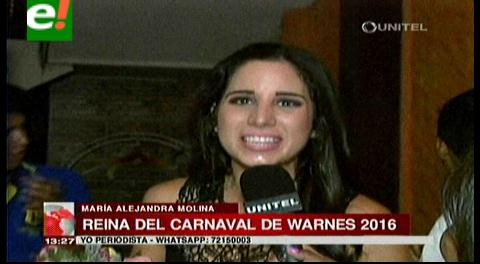 Una miss reinará el carnaval warneño 2016