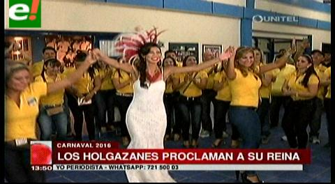 Nadine Aranda reina de los Cambas Holgazanes