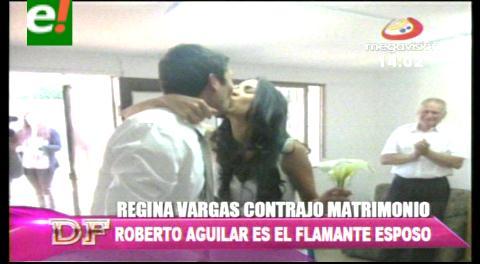 Regina Vargas pasó a la fila de las casadas