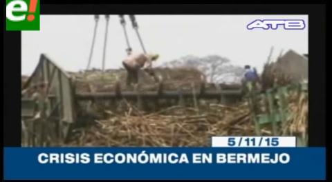 Titulares de TV: Bermejo atraviesa la peor crisis económica de los últimos 20 años