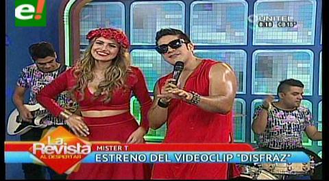 Mister T lanza videoclip junto a Daniela Núñez del Prado