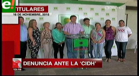 Titulares de TV: Oposición denuncia ante la CIDH al Legislativo por incumplir leyes y convocar a referéndum