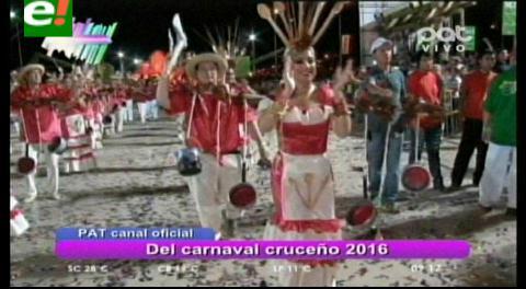 El carnaval cruceño  2016 ya tiene canal oficial