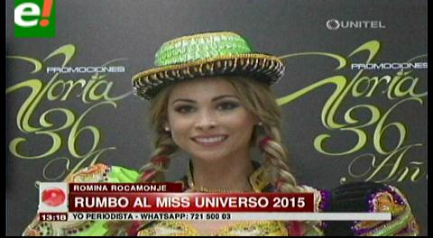 Miss Universo 2015: Romina Rocamonje rumbo a Las Vegas