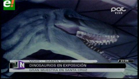 """Dinosaurios Gigantes"" en Santa Cruz"