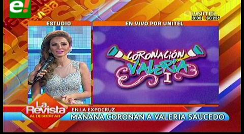 Los Pichones coronarán mañana a Valeria Saucedo