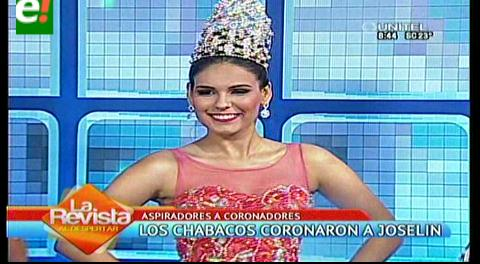 Los Chabacos coronaron a Joselin Toro