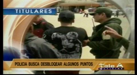 Titulares de TV: Culpan al transporte pesado por afectar al turismo nacional