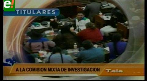 Titulares de TV: Oficialismo y oposición no descartan convocar a Zapata y a los representantes de CAMC