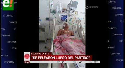 Brutal golpiza deja a un hombre en coma