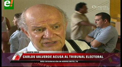 Carlos Valverde: Bolivianos están divididos entre el Sí y el No por la megalomanía de Evo e intereses del Vice