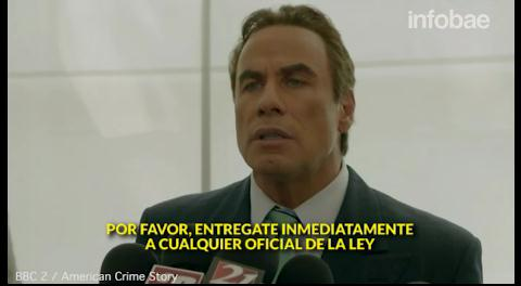 El extraño nuevo aspecto de John Travolta