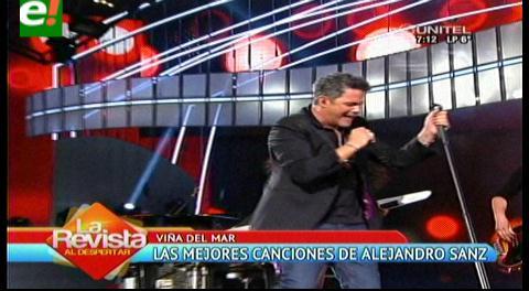 Alejandro Sanz cautivó en Viña del Mar