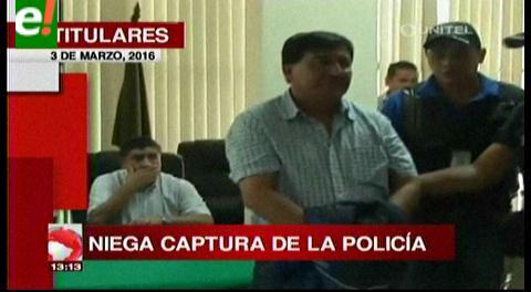 Titulares de TV: José Luis Sejas acusado por narcotráfico se entregó a la Policía