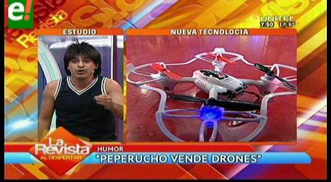 Llame ya!! Peperucho vende drones