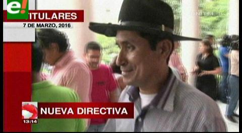 Titulares de TV: Benigno Vargas preside la Brigada Parlamentaria Cruceña