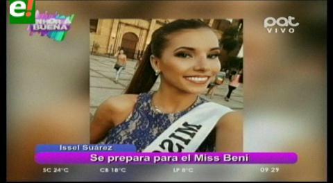 Issel Suárez quiere la corona de Miss Beni 2016