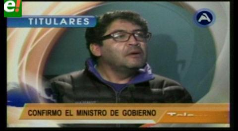 Titulares de TV: Renunció el viceministro de Gobierno Marcelo Elío
