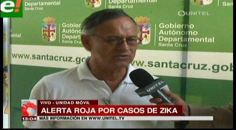 Santa Cruz declara alerta roja por casos de zika