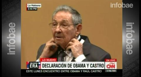 """Raúl Castro: """"Dame la lista de los presos políticos y antes de la noche estarán sueltos"""""""