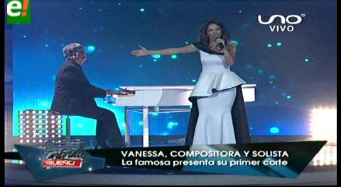 Vanessa Añez se lanza como solista y comienza  el mayor desafío de su historia musical