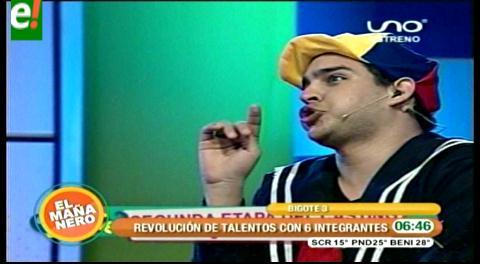 """Bigote """"del 8"""" arrancó el programa juvenil"""