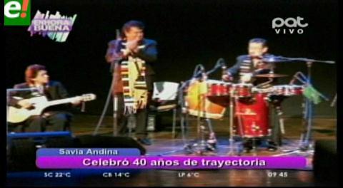 Savia Andina: cuatro décadas de nostalgias