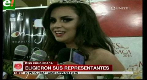 Miss Chuquisaca 2016: «La humildad te abre grandes puertas»