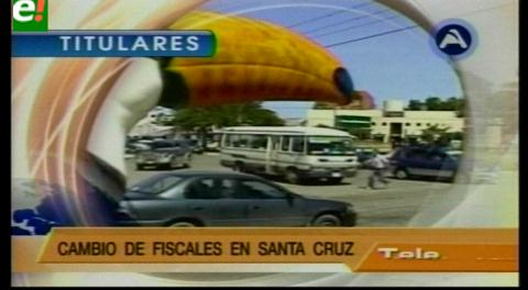 Titulares de TV: El MAS denuncia que en la Gobernación y Alcaldía cruceña existe nepotismo